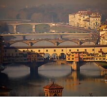 The Bridges of Florence by Rae Tucker