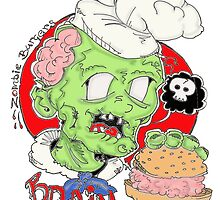 Zombie burgers brain delux by davo77