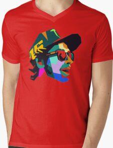 VR46 Mens V-Neck T-Shirt