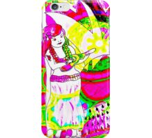 Hula Happiness  by Lollypop Arts iPhone Case/Skin