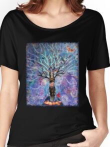 The goddess tree Women's Relaxed Fit T-Shirt