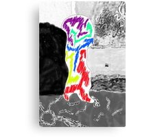 Sad Alien Boy Canvas Print