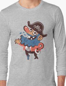 Cap'n Bluebeard Long Sleeve T-Shirt