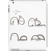 Abandon your emotions iPad Case/Skin