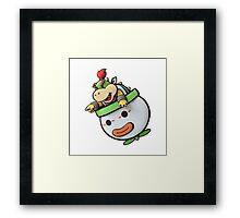 Mario - Bowser Jr Framed Print