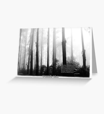 Misty Mountain Ash Sherbrooke Forest Greeting Card