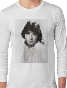 David Cassidy by John Springfield Long Sleeve T-Shirt