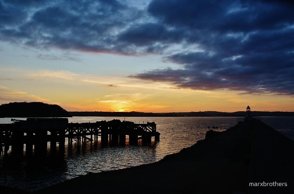 brixham sunset.... by marxbrothers