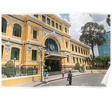 General Post Office Saigon Vietnam Poster