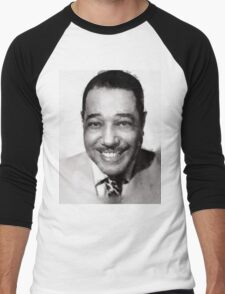 Duke Ellington by John Springfield Men's Baseball ¾ T-Shirt