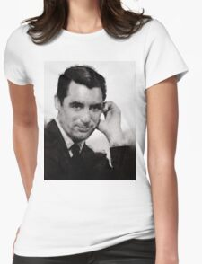 Cary Grant by John Springfield Womens Fitted T-Shirt