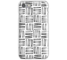 Checkerboard pattern iPhone Case/Skin