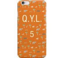 Pattern QYL 5 Darjeeling Limited iPhone Case/Skin
