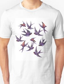 Winter swallows T-Shirt