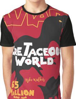 Cretaceous World - Grindhouse Graphic T-Shirt