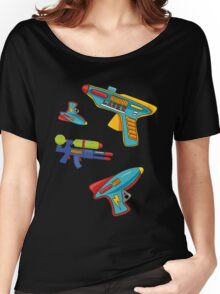 Water gun pattern Women's Relaxed Fit T-Shirt