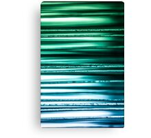 Blue Green Canvas Print
