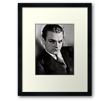 James Cagney by John Springfield Framed Print