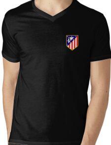 atletico madrid logo Mens V-Neck T-Shirt