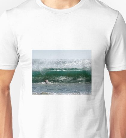 Diving Into Green Unisex T-Shirt