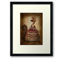 Maire Antoinette Gets a New Hat Framed Print