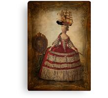 Maire Antoinette Gets a New Hat Canvas Print