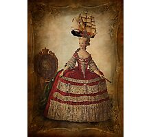 Maire Antoinette Gets a New Hat Photographic Print