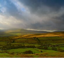 Wensleydale from Buttertubs Pass by Karlspics