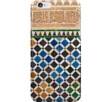 Alhambra Granada tile iPhone Case/Skin
