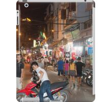 Hanoi Old Quarter Night Time Vietnam iPad Case/Skin