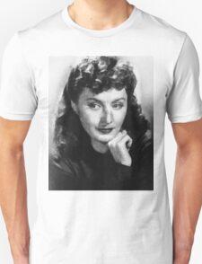 Barbara Stanwyck by John Springfield T-Shirt