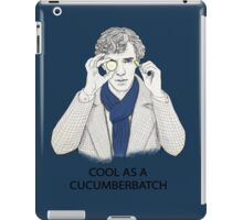 Cool As A Cucumberbatch iPad Case/Skin