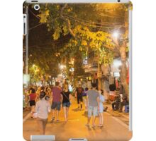 Hanoi Old Quarter Evening, Vietnam iPad Case/Skin