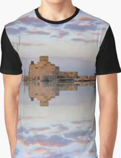 Museum of Islamic Art reflection Graphic T-Shirt
