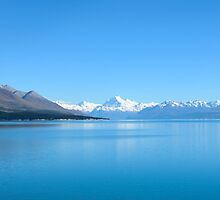 View on Mount Cook,  New Zealand by 29Breizh33