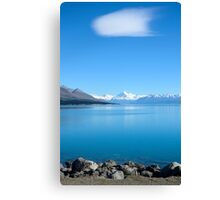 View on Mount Cook,  New Zealand Canvas Print