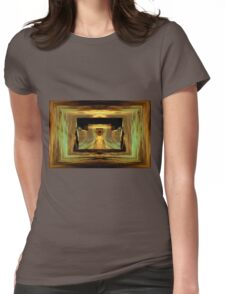 Into the gate below Womens Fitted T-Shirt