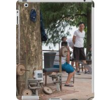 Hanoi Hoan Kiem Lake Exercise Time iPad Case/Skin