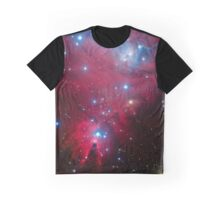 Christmas Tree Cluster Graphic T-Shirt