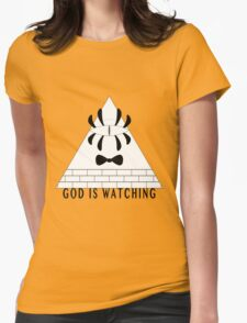 Always Watching. Womens Fitted T-Shirt
