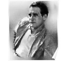 Paul Newman actor by John Springfield Poster