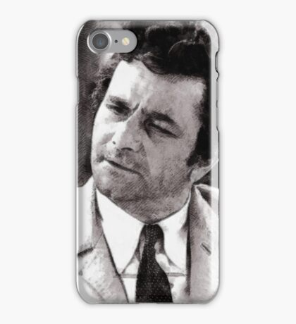 Peter Falk Columbo by John Springfield iPhone Case/Skin