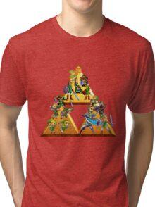 The Legend Of Zelda: Generations of Link Tri-blend T-Shirt