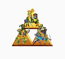 The Legend Of Zelda: Generations of Link Unisex T-Shirt