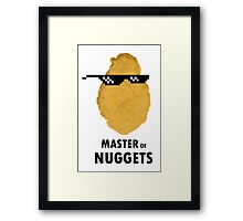 Master of Nuggets Framed Print