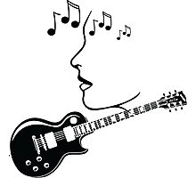Love for Music Photographic Print