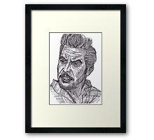 Clooney Framed Print