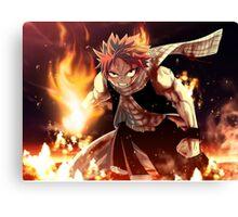 Fairy Tail natsu epic natsu Canvas Print