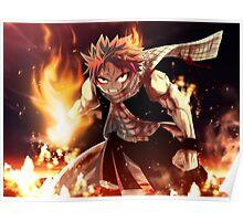 Fairy Tail natsu epic natsu Poster