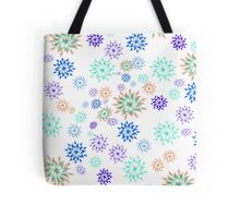 flower patterns Tote Bag